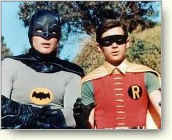 Adam West and Burt Ward
